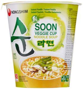 Vegane Alternativen - Asia-Nudelsuppe