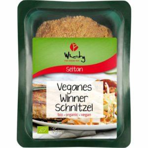 Vegane Alternativen - veganes Schnitzel von Wheaty